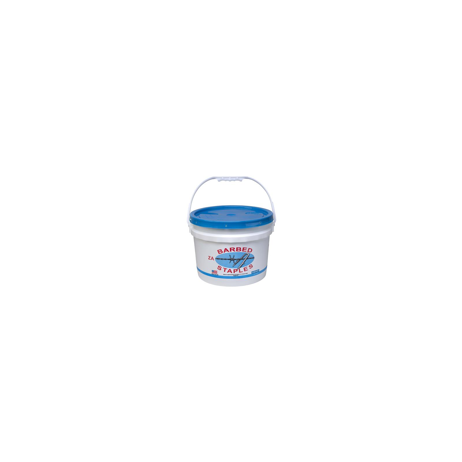 2-In. 50-Lb Quantity 1 162837 8-Gauge Barbed Fence Staples Bucket