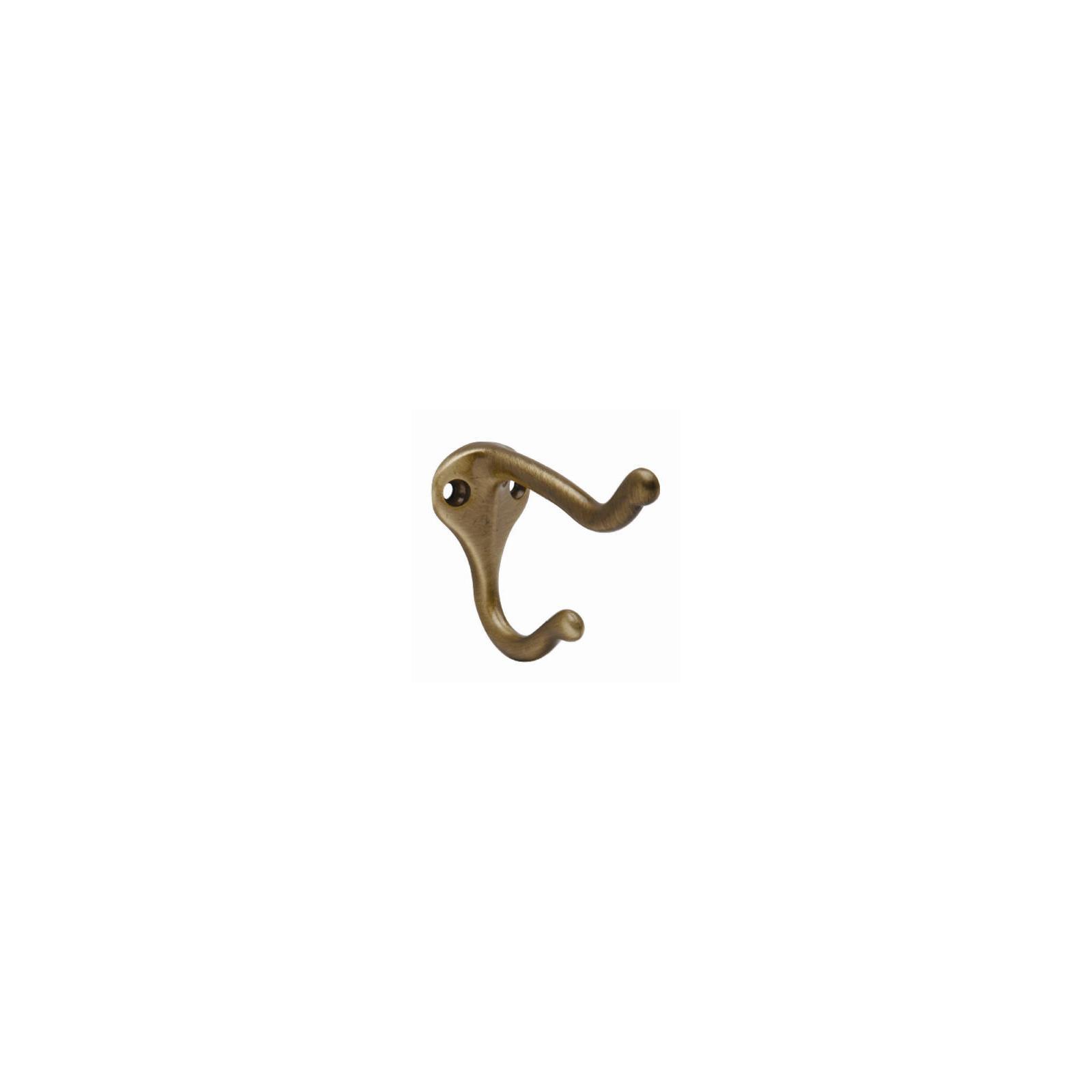 Schlage Lock SPS571MB-609 3-In. Antique Brass Coat & Hat Hook - Quantity 1